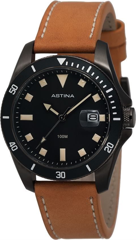 Astina Gents Leather Strap