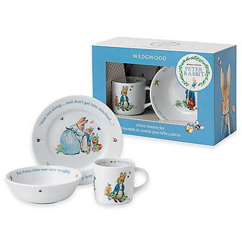 Peter Rabbit 3 Piece Set Blue