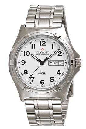 Olympic Work Watch White Dial